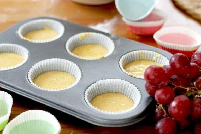Backform für das Backen von Muffins