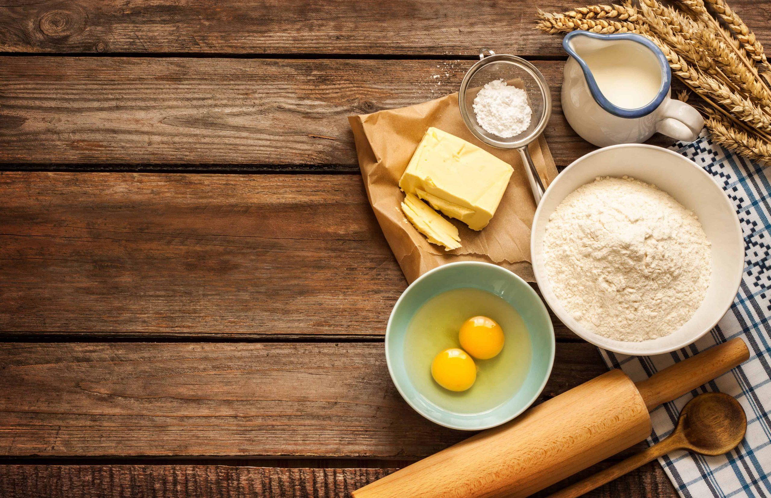 Backen ohne Mehl: So gelingen leckere Backwerke mit Mehlersatz