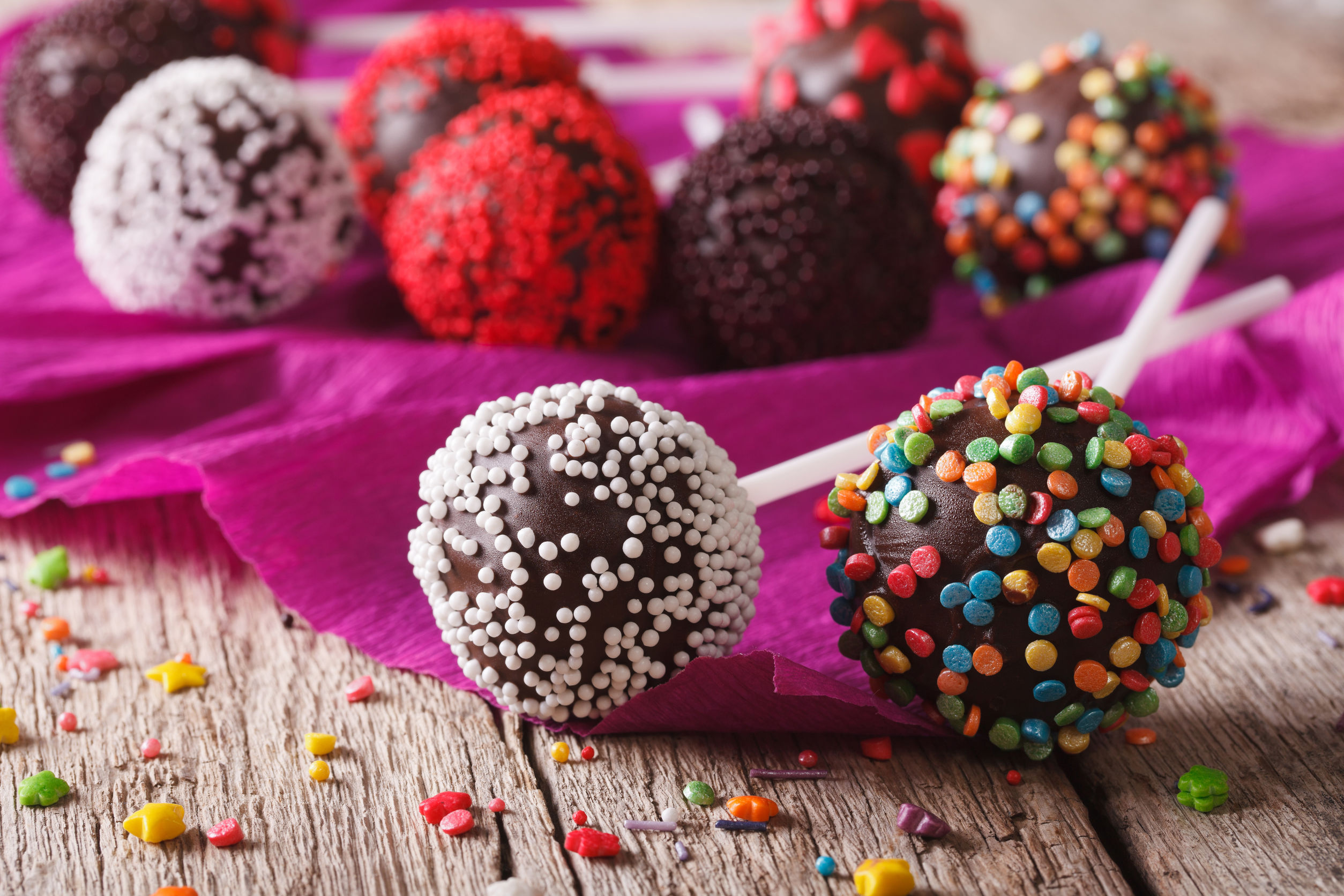 Cake Pop Maker aus Silikon
